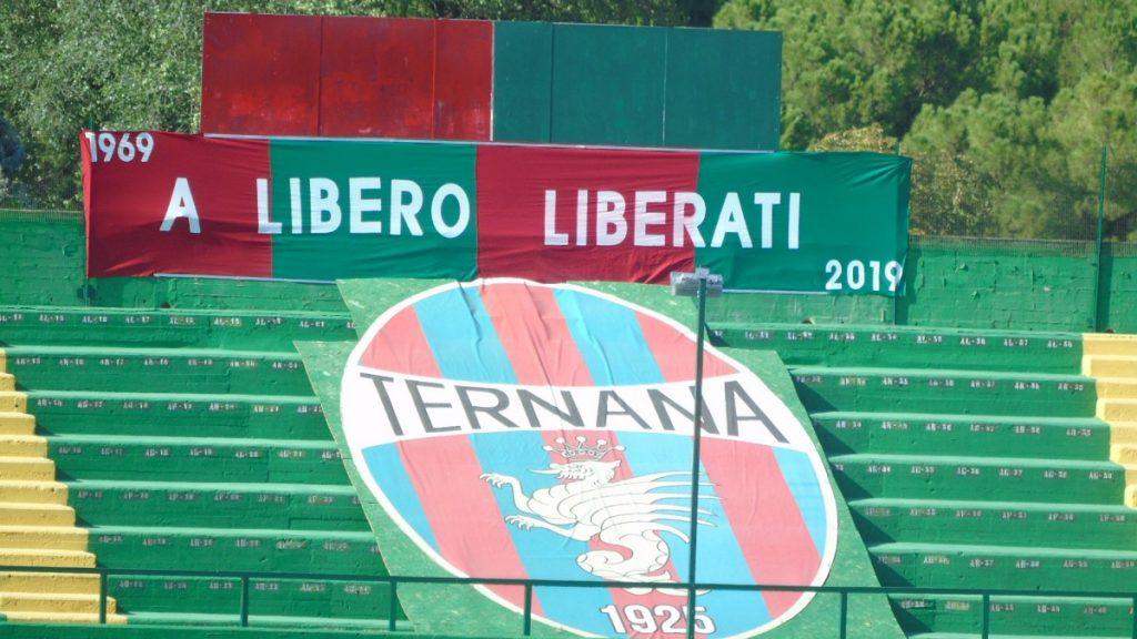 Ternana, nuova veste per la curva San Martino