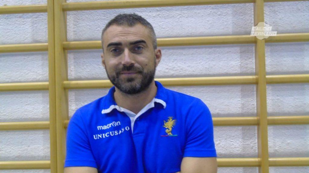 "Futsal Ternana, Federico Pellegrini: ""I ragazzi sono stati fantastici"""