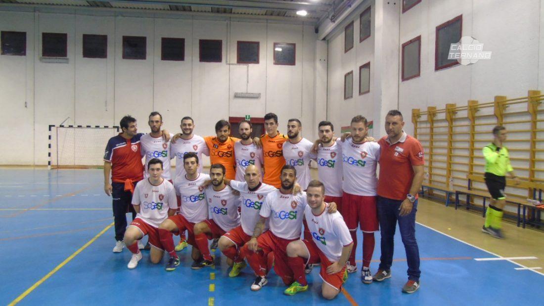 La squadra del Calvi Academy calcio a 5