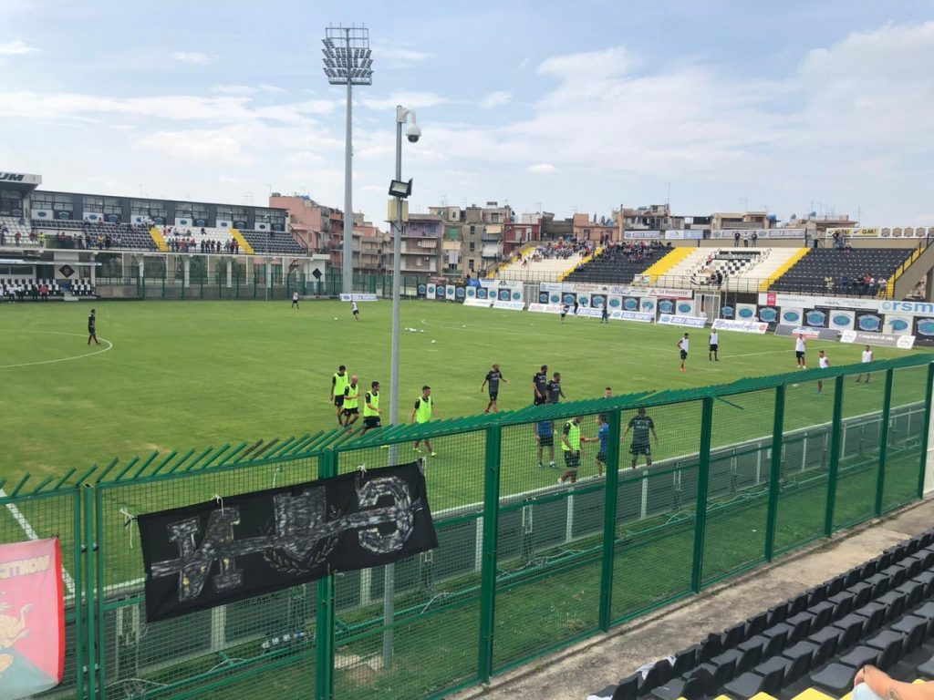 Lo stadio della Sicula Leonzio