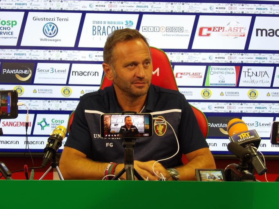 Ternana-Avellino, la diretta della conferenza stampa di Fabio Gallo