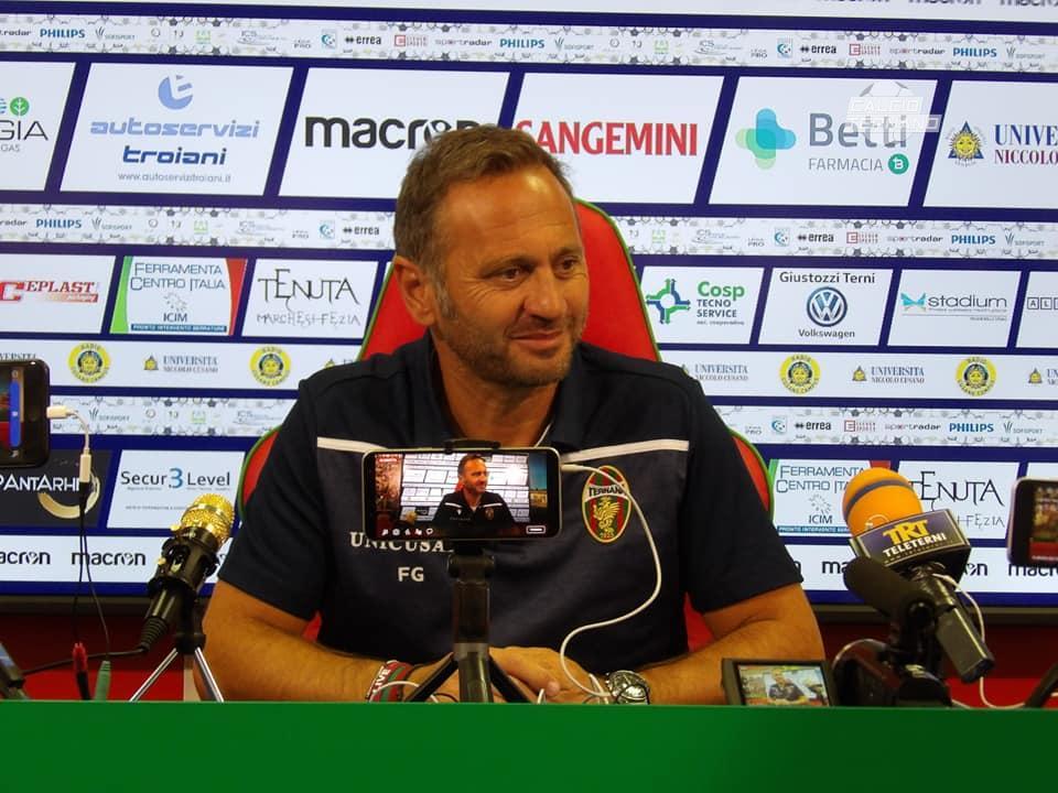 """Bari-Ternana, Fabio Gallo: """"Il signore con il maglione giallo mi ha invitato a cena"""""""