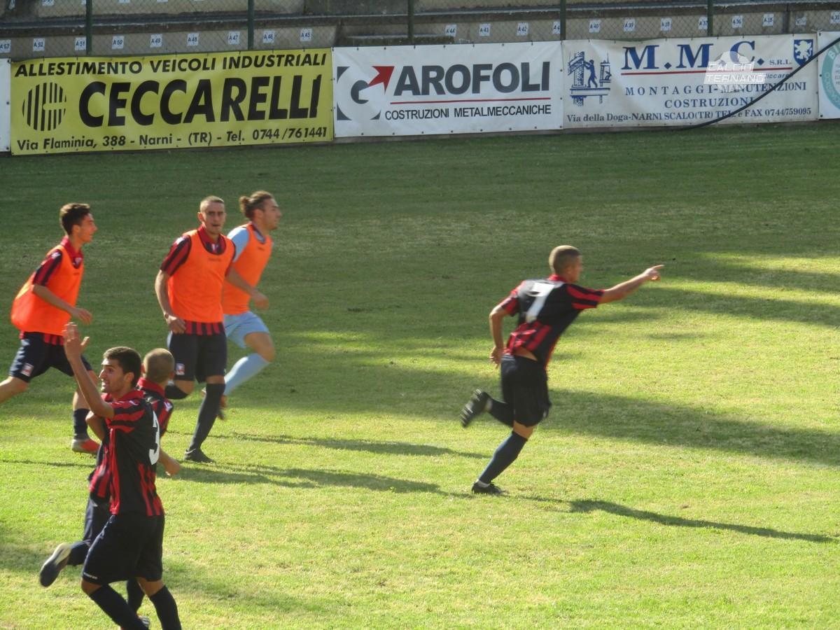 """Narnese, Andrea Bagnato: """"Il portiere continuava a rimanere fuori dai pali ed è andata bene"""""""
