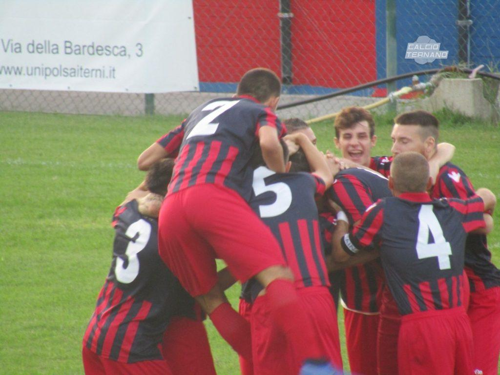 Narnese-Lama 1-0, i rossoblù tornano al successo
