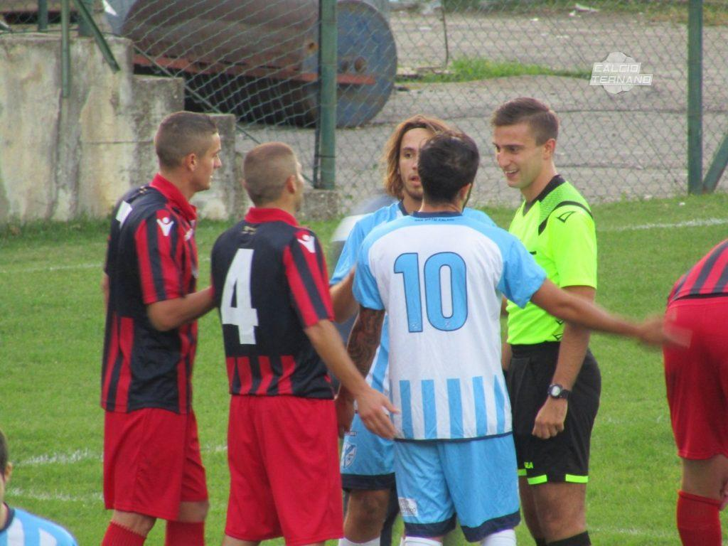 Narnese-Lama, il match si gioca in anticipo