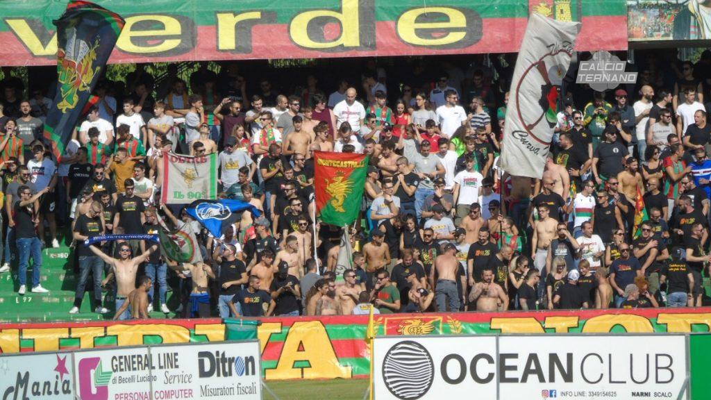 Bari-Ternana ufficiale, il dato dei tifosi rossoverdi presenti al San Nicola