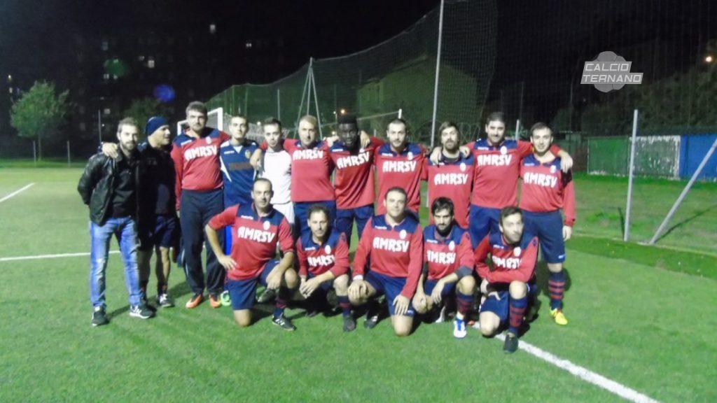 La squadra dell'Amr San Valentino