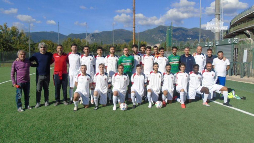 La formazione della Grs Papigno partecipante al campionato di Seconda categoria girone D