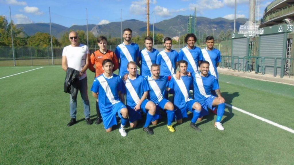 La formazione della Bosico partecipante alla Seconda categoria girone D