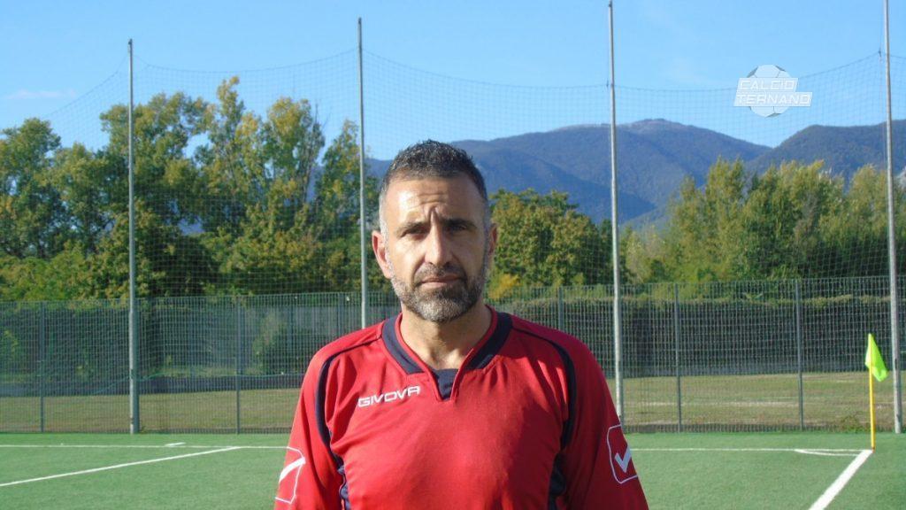 L'allenatore Fabrizio Giovannelli Grs Papigno