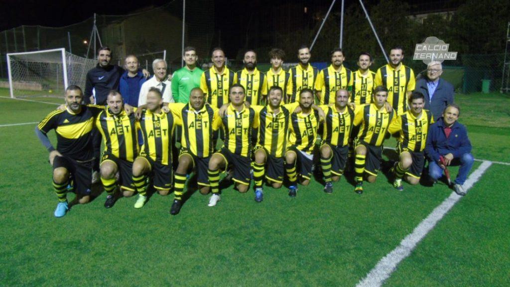 Una squadra dell'Uisp