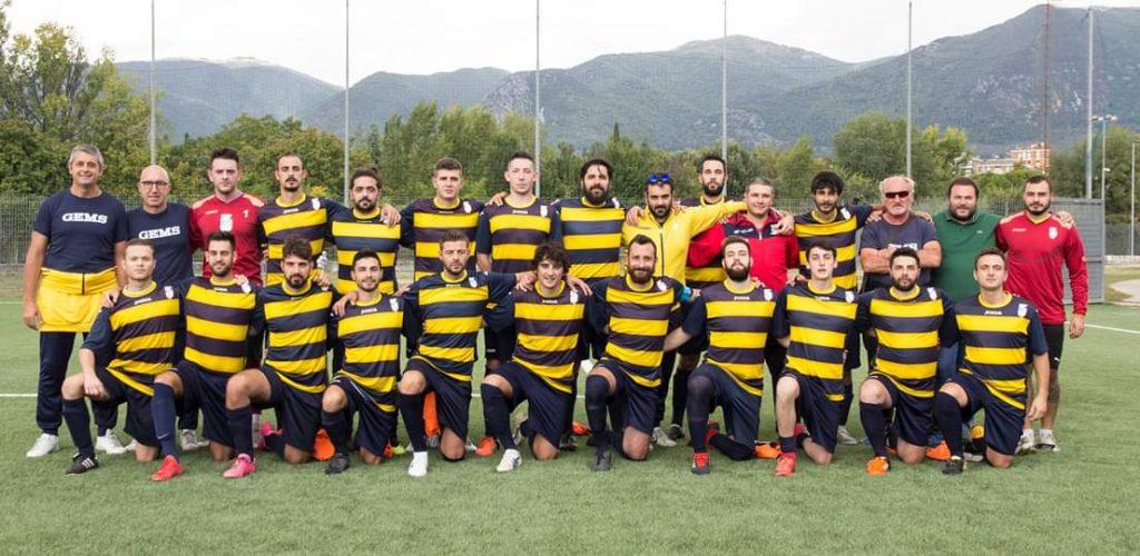 La formazione dell'Otricoli partecipante al torne odi Seconda categoria girone C