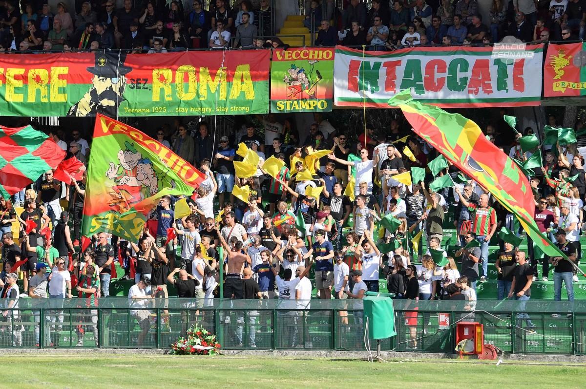 Ternana-Catania curva est