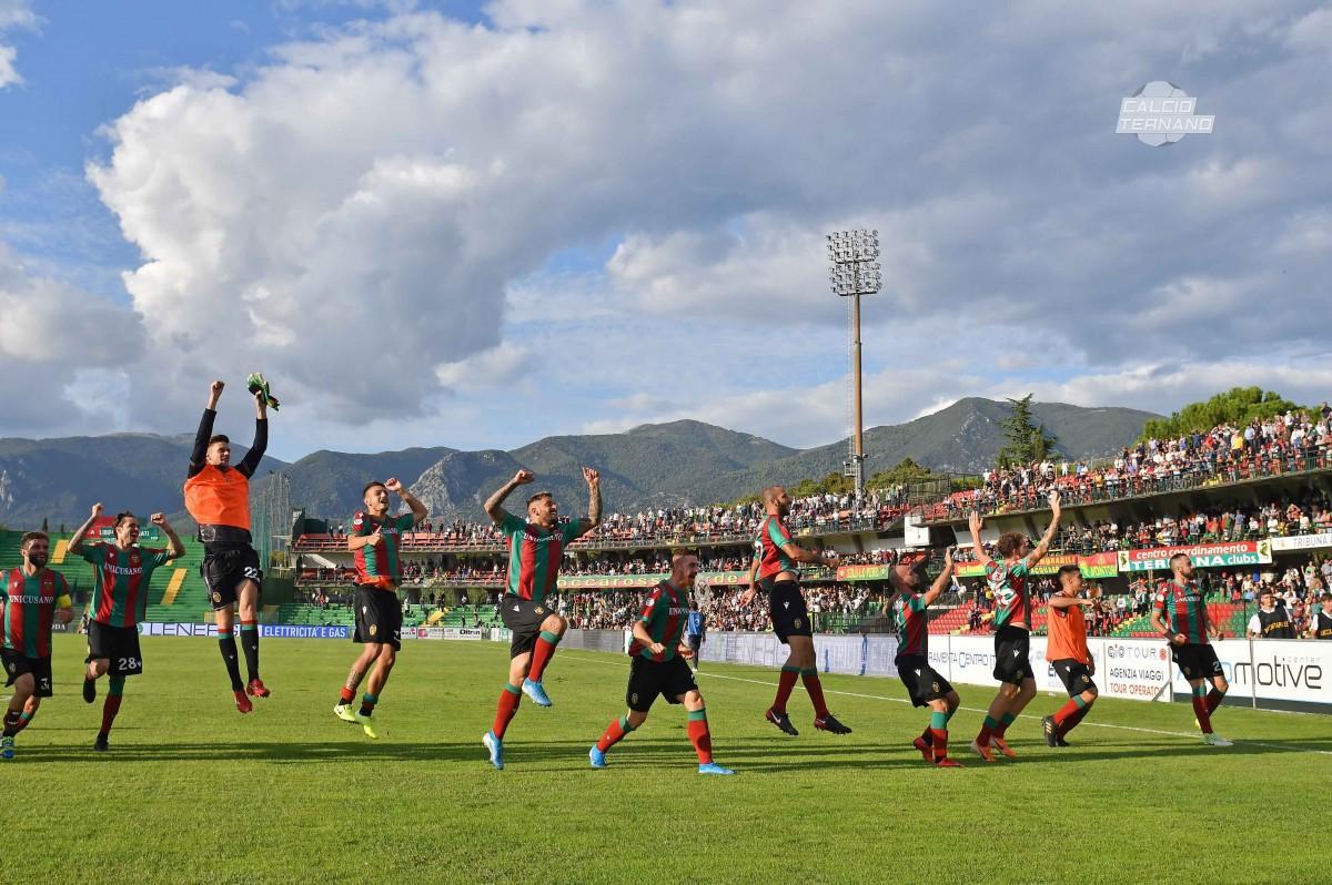 Ternana-Catania, la fotogallery del match