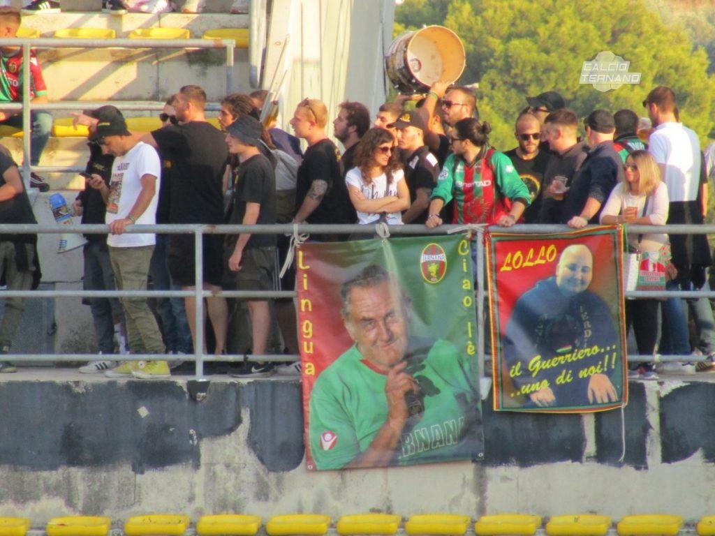 Bisceglie-Ternana, dato provvisorio biglietti venduti ai tifosi rossoverdi