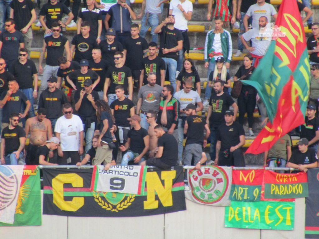 Bisceglie-Ternana, dato definitivo biglietti venduti ai tifosi rossoverdi