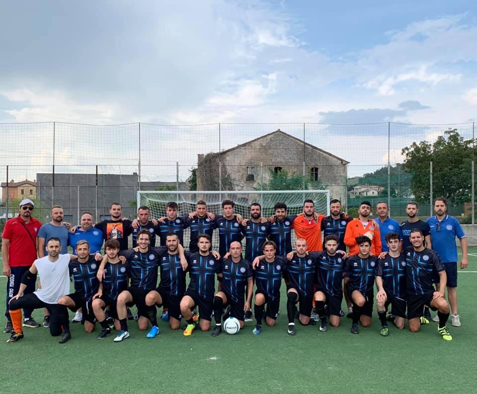 La squadra del Ciconia calcio