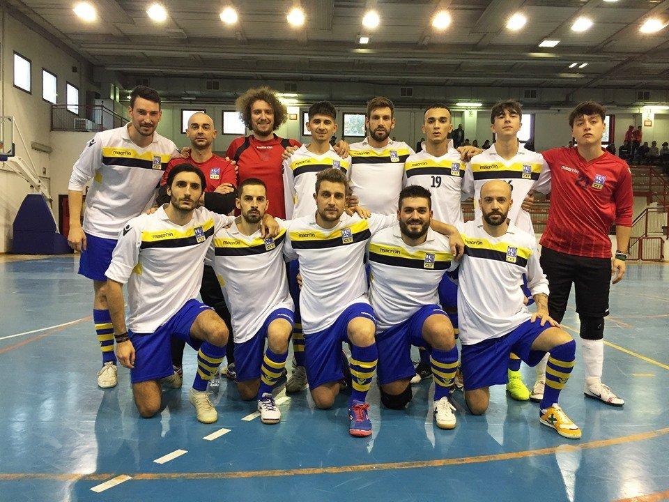 La squadra di calcio a 5 del CLT
