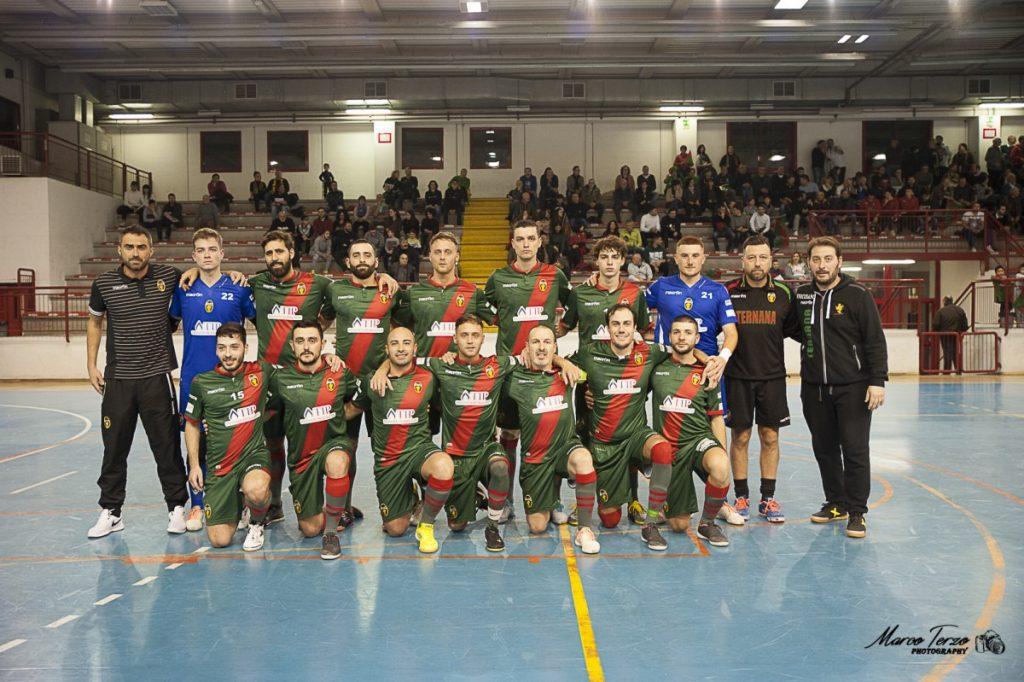 La squadra Futsal Ternana