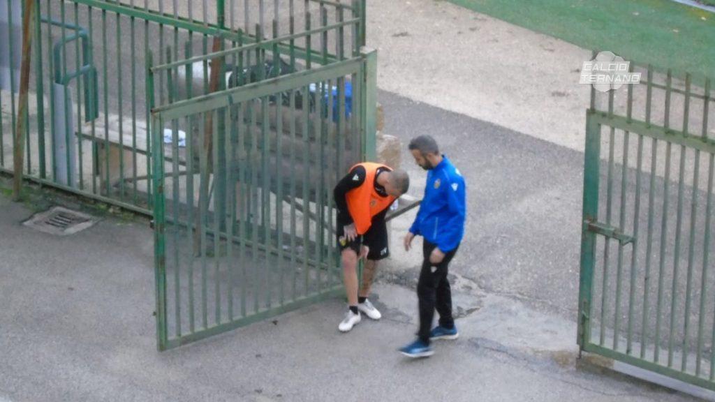 il calciatore ed il medico