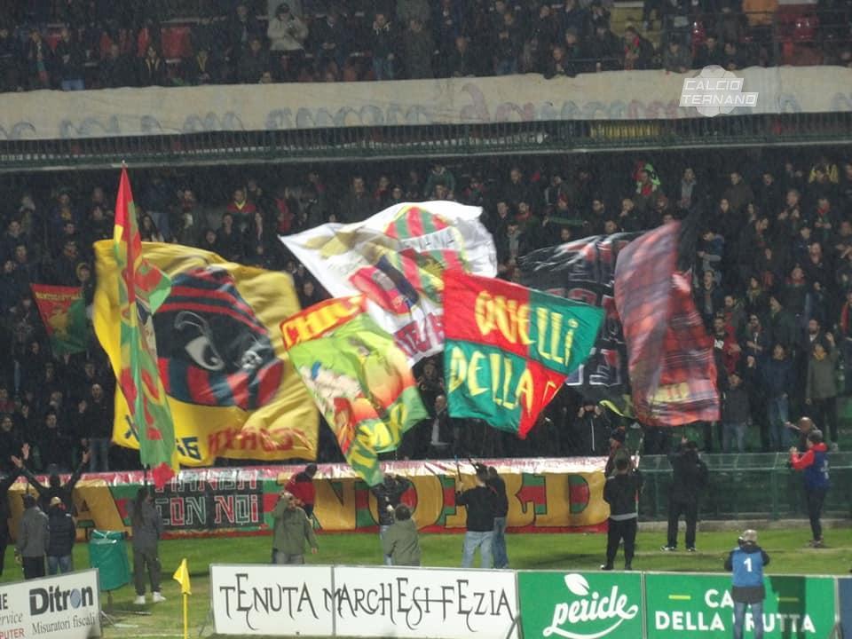 Ternana-Rieti, il match potrebbe essere disputato domenica: ecco perchè