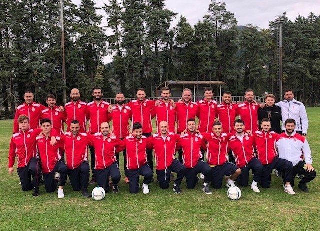 La formazione dell'Alviano impegnata nel campionato di seconda categoria girone D