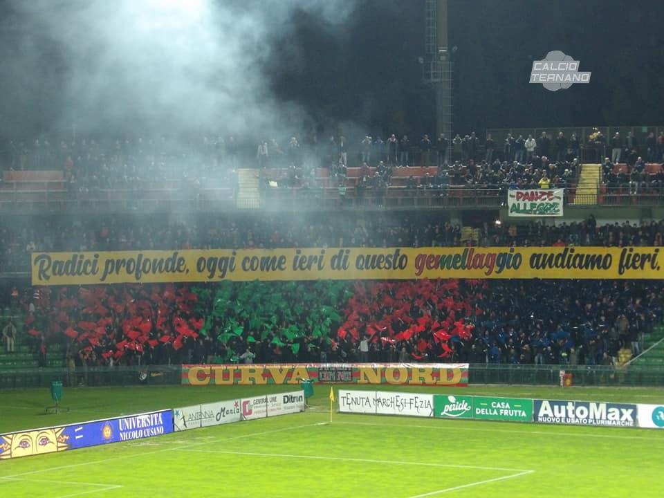 Ternana-Rieti ufficiale, il match non si giocherà