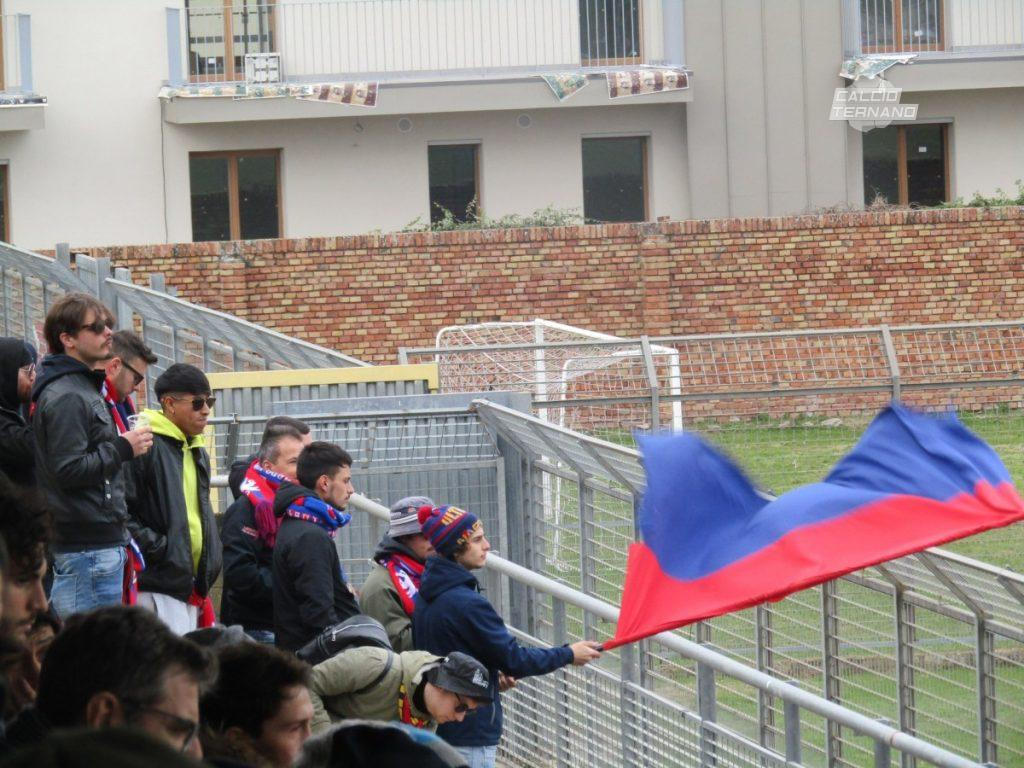 I tifosi della Narnese in trasferta a Città di castello