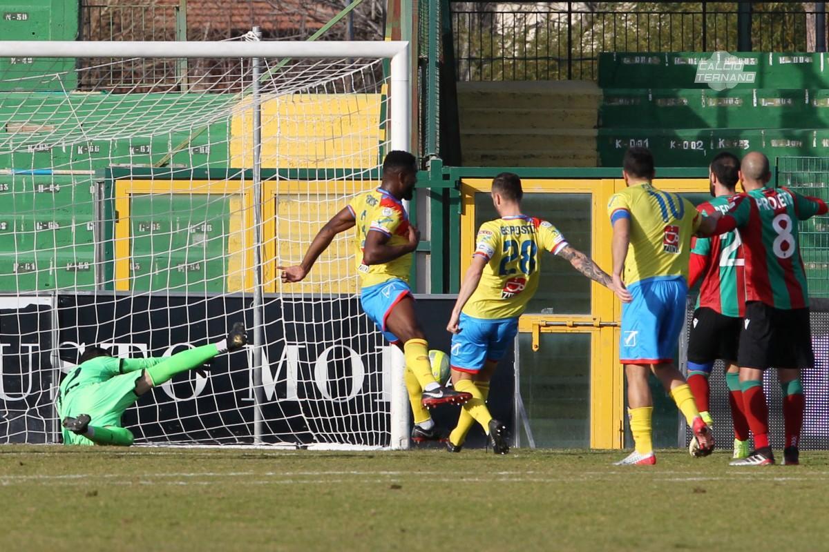 il match tra Ternana e Catania di Coppa
