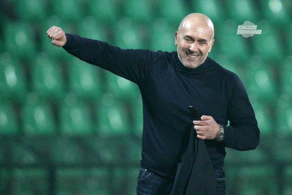 Stefano Bandecchi durante il match