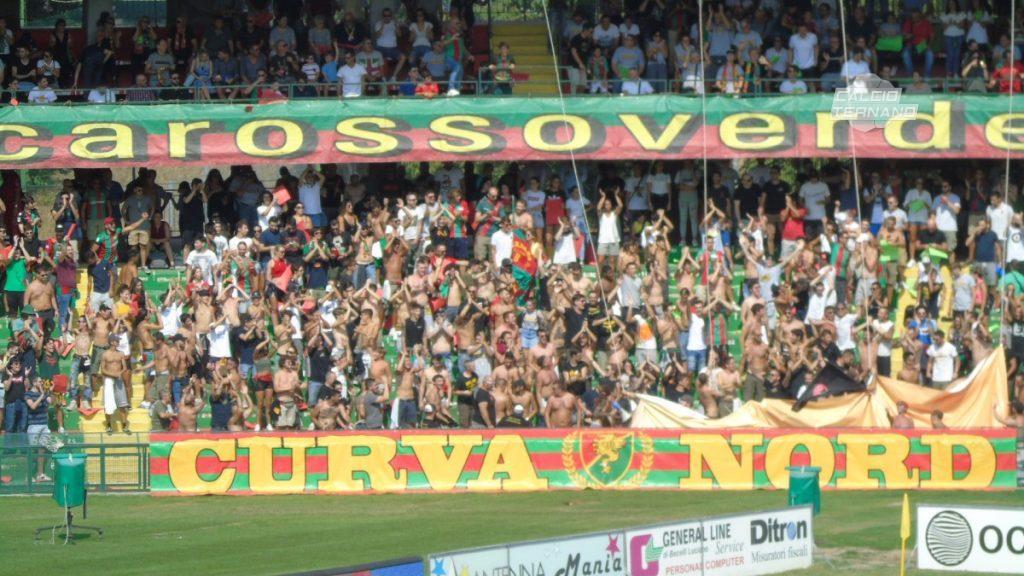 Potenza-Ternana, dato ufficiale biglietti venduti ai tifosi rossoverdi
