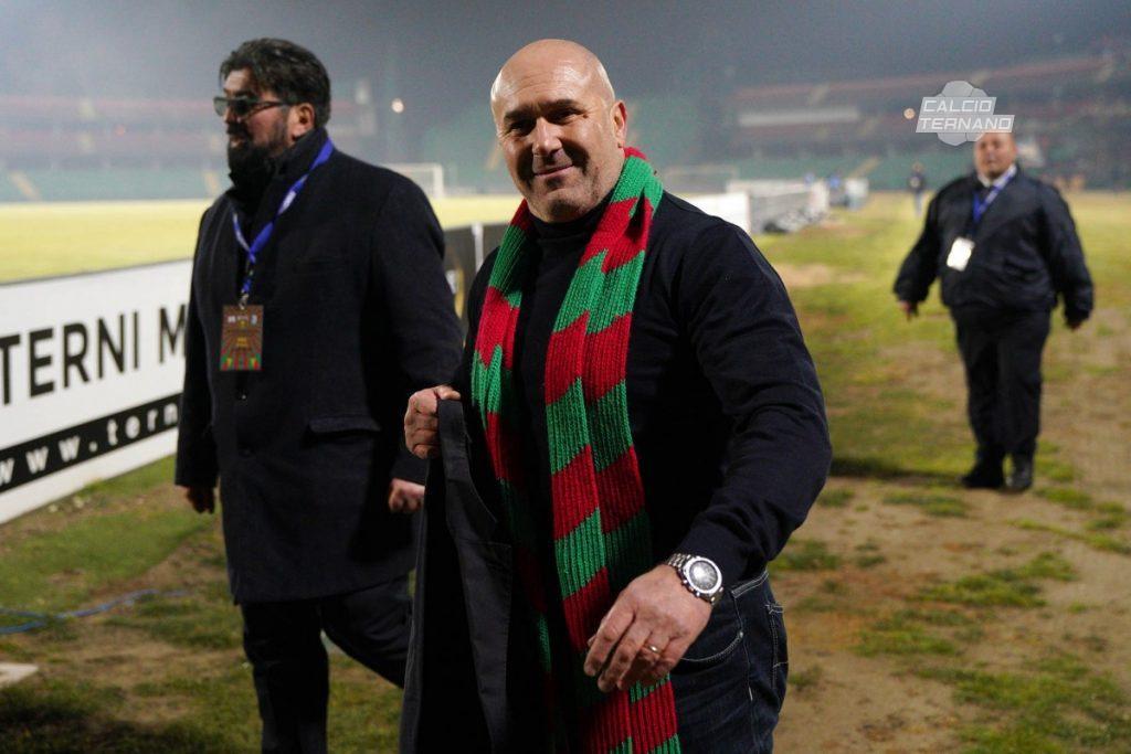 il presidente Stefano Bandecchi