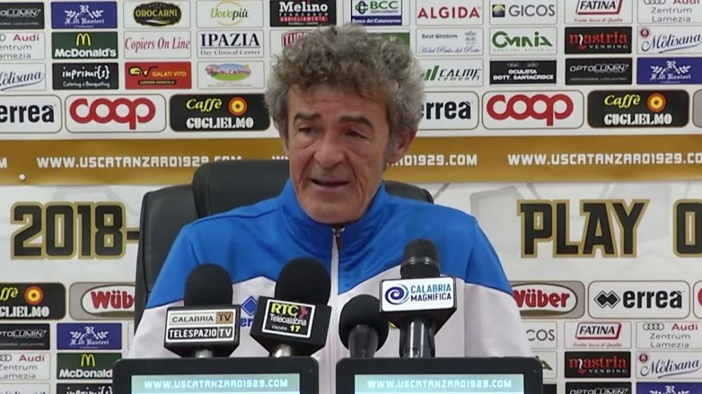Il tecnico del Bari Gaetano Auteri