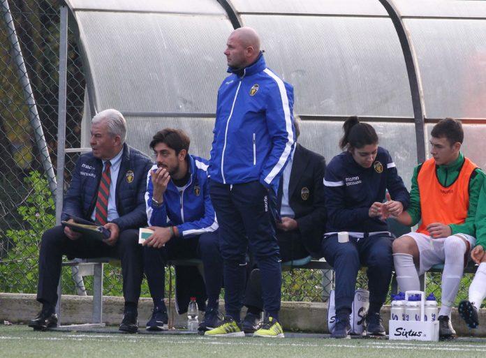 Il tecnico dell'Under 17 della Ternana Mirko Pagliarini