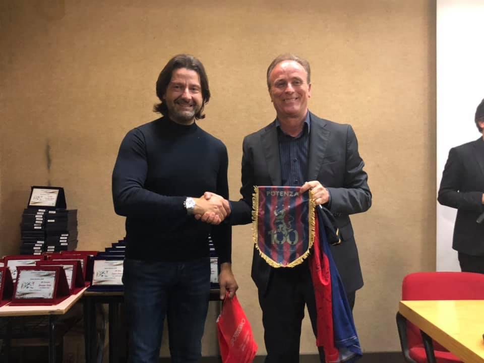Il presidente Caiata del Potenza in Lega Pro