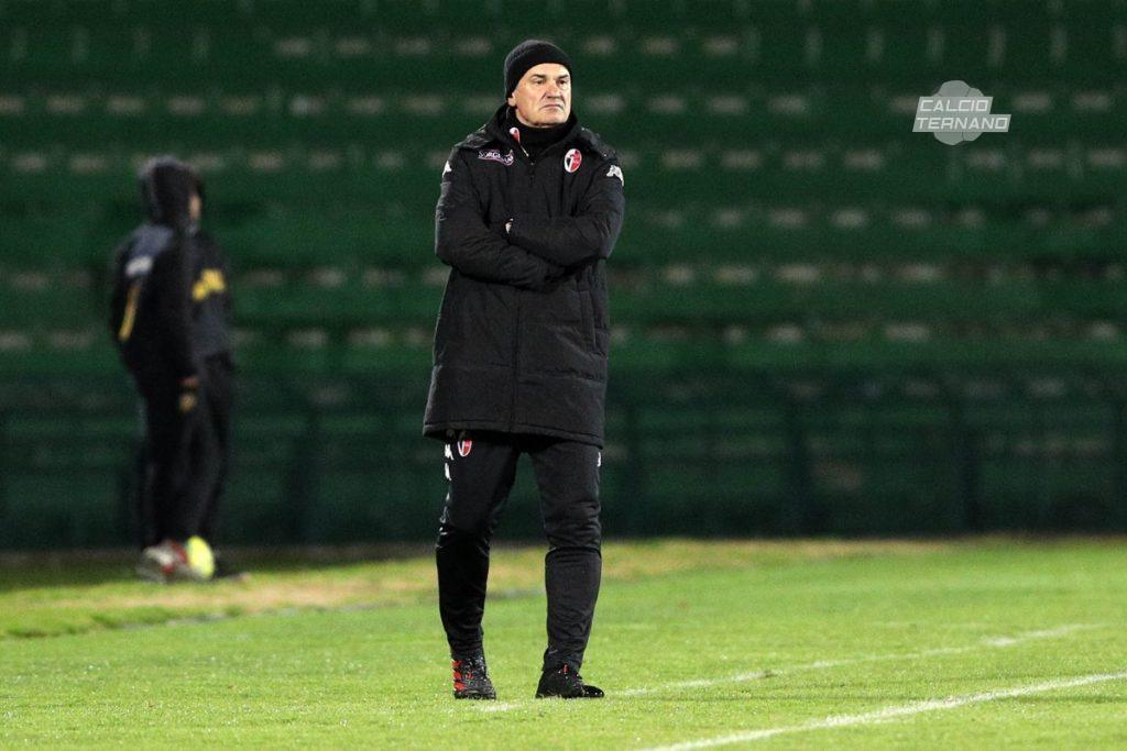 L'allenatore del Bari Vivarini
