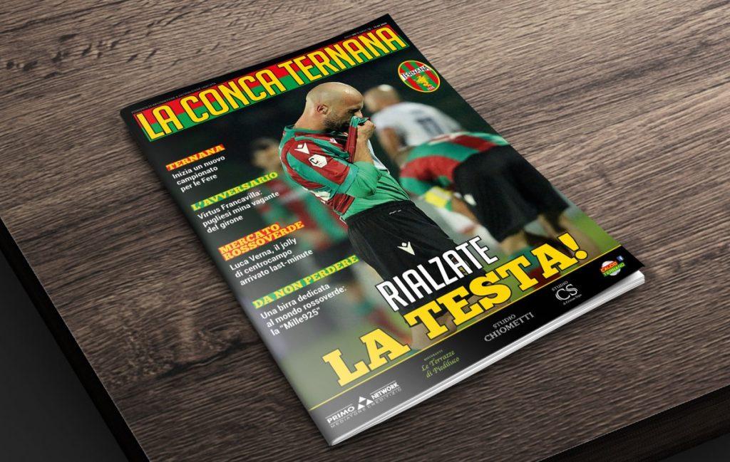 """La copertina del """"La Conca Ternana"""" numero 13"""