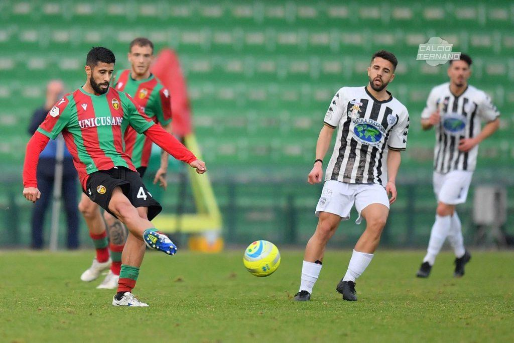 Luca Verna in azione