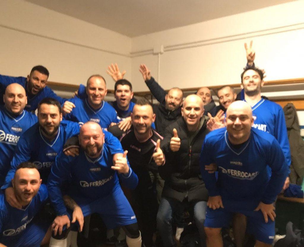 La squadra dell'Asd Campomaggio