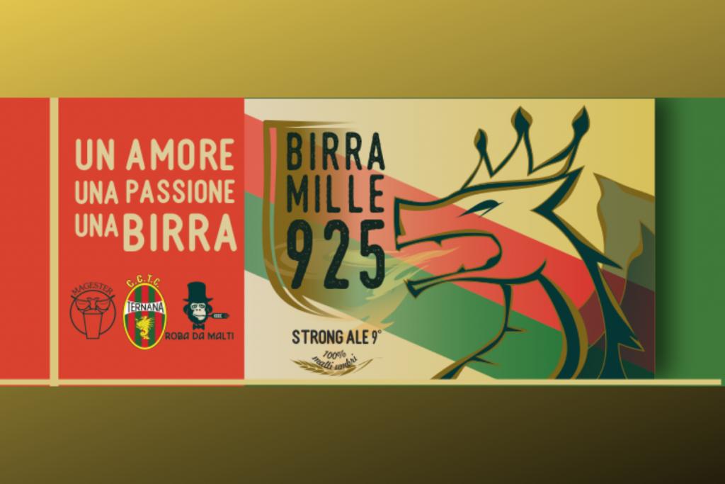 etichetta birra mille925