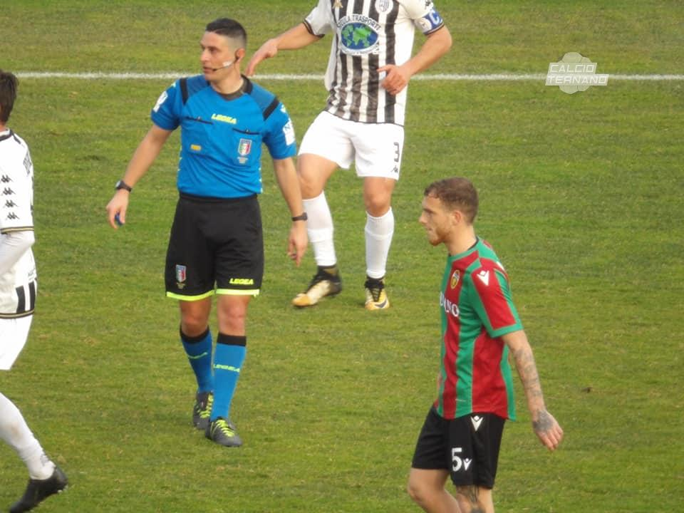 il match tra Ternana e Sicula Leonzio