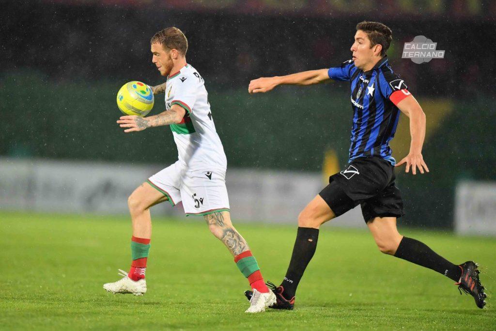il centrocampista Antonio Palumbo