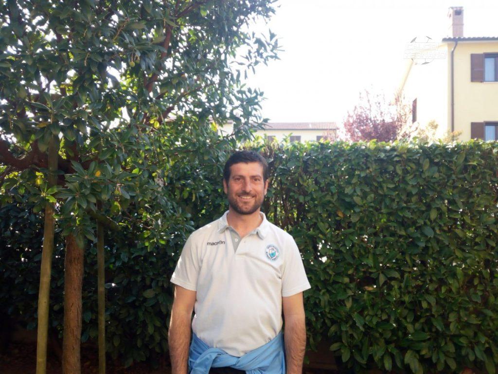 Samuele Baldini allenatore Romeo Menti
