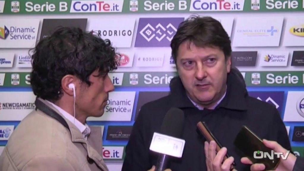 Il presidente del Pescara Daniele Sebastiani