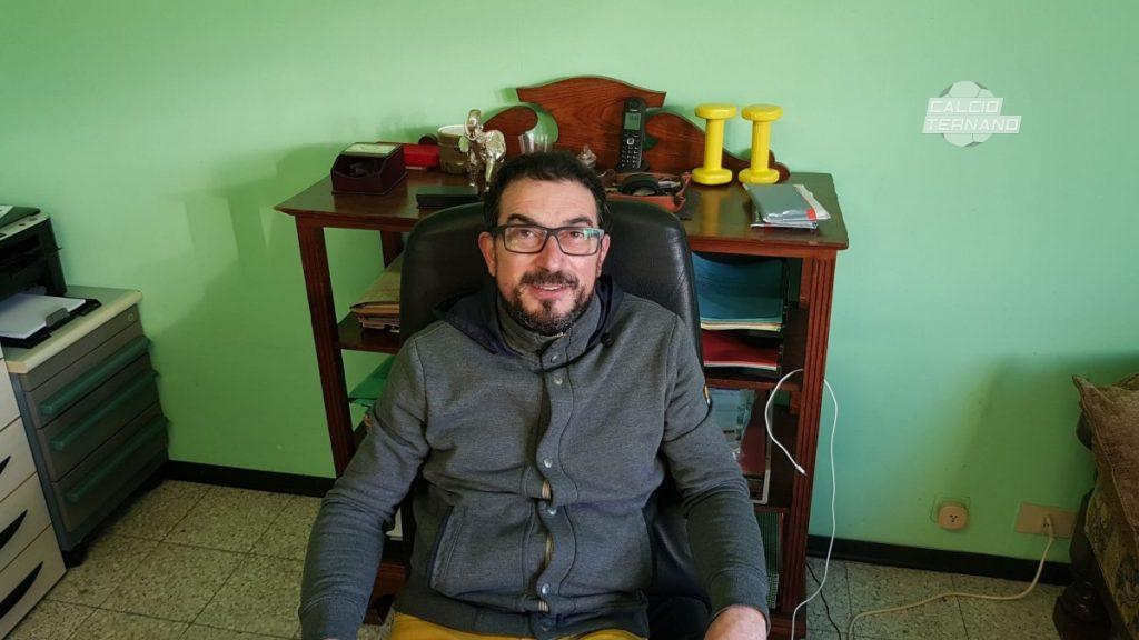 il presidente del calvi gianni giacomini