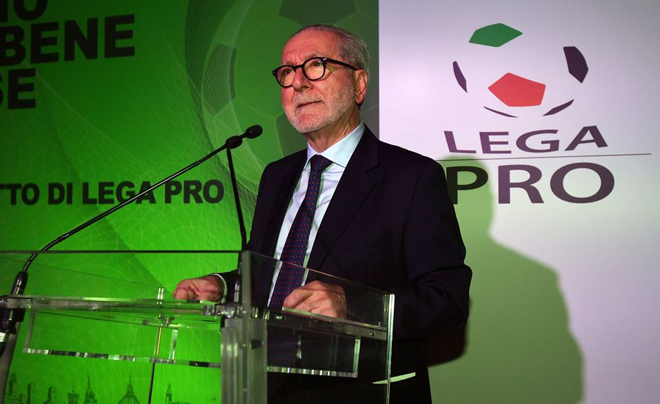 il presidente Ghirelli della lega Pro