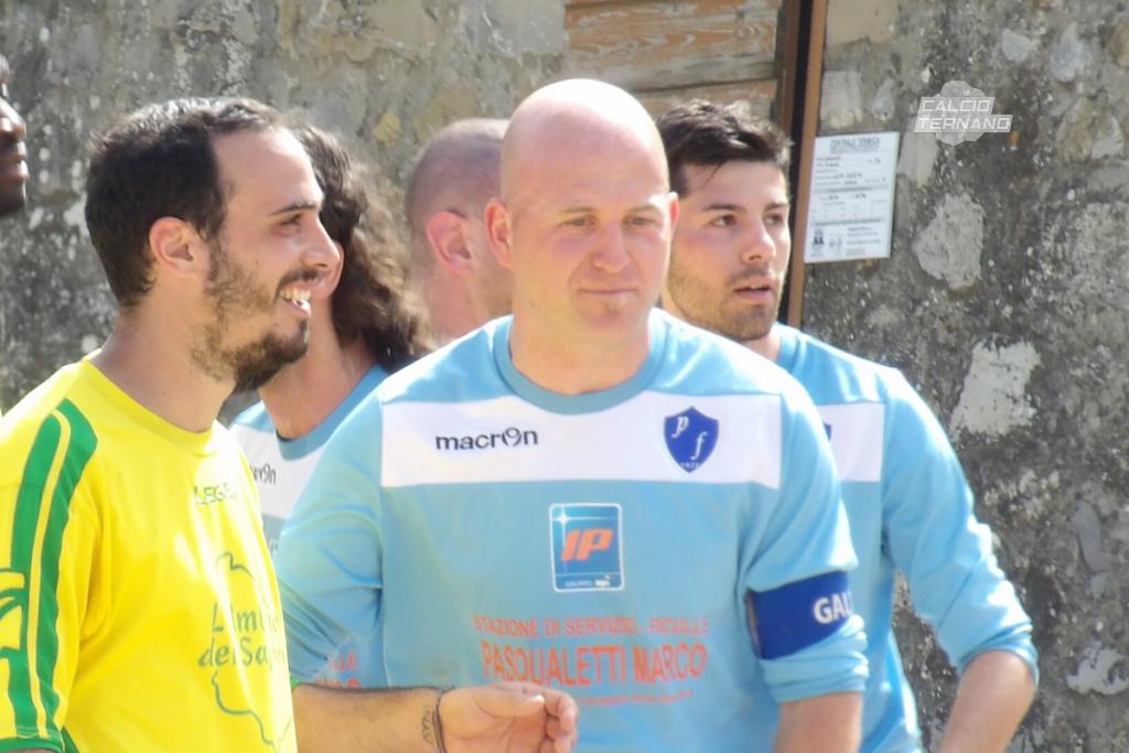 Il capitano della pro Ficulle Daniele Galletti
