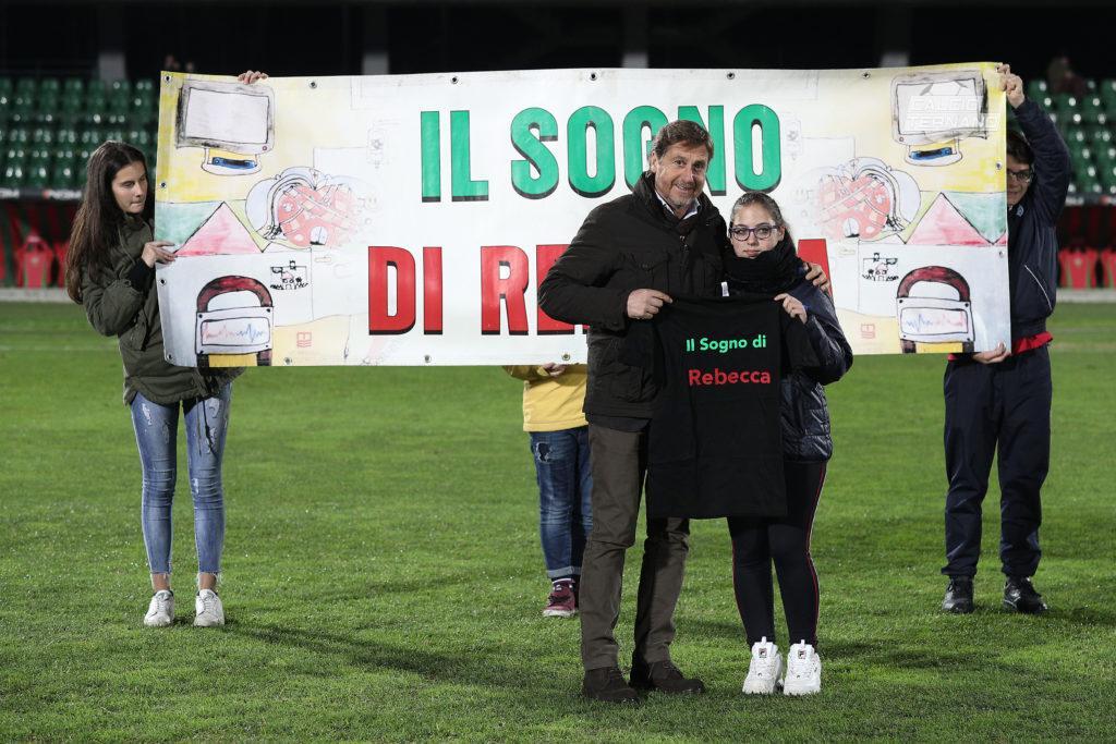 Stefano Ranucci e Rebecca ternana