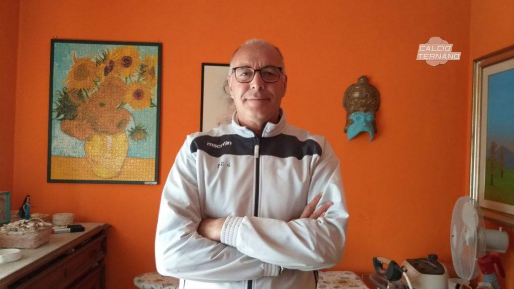 L'allenatore Luciano Sciò della Bosico