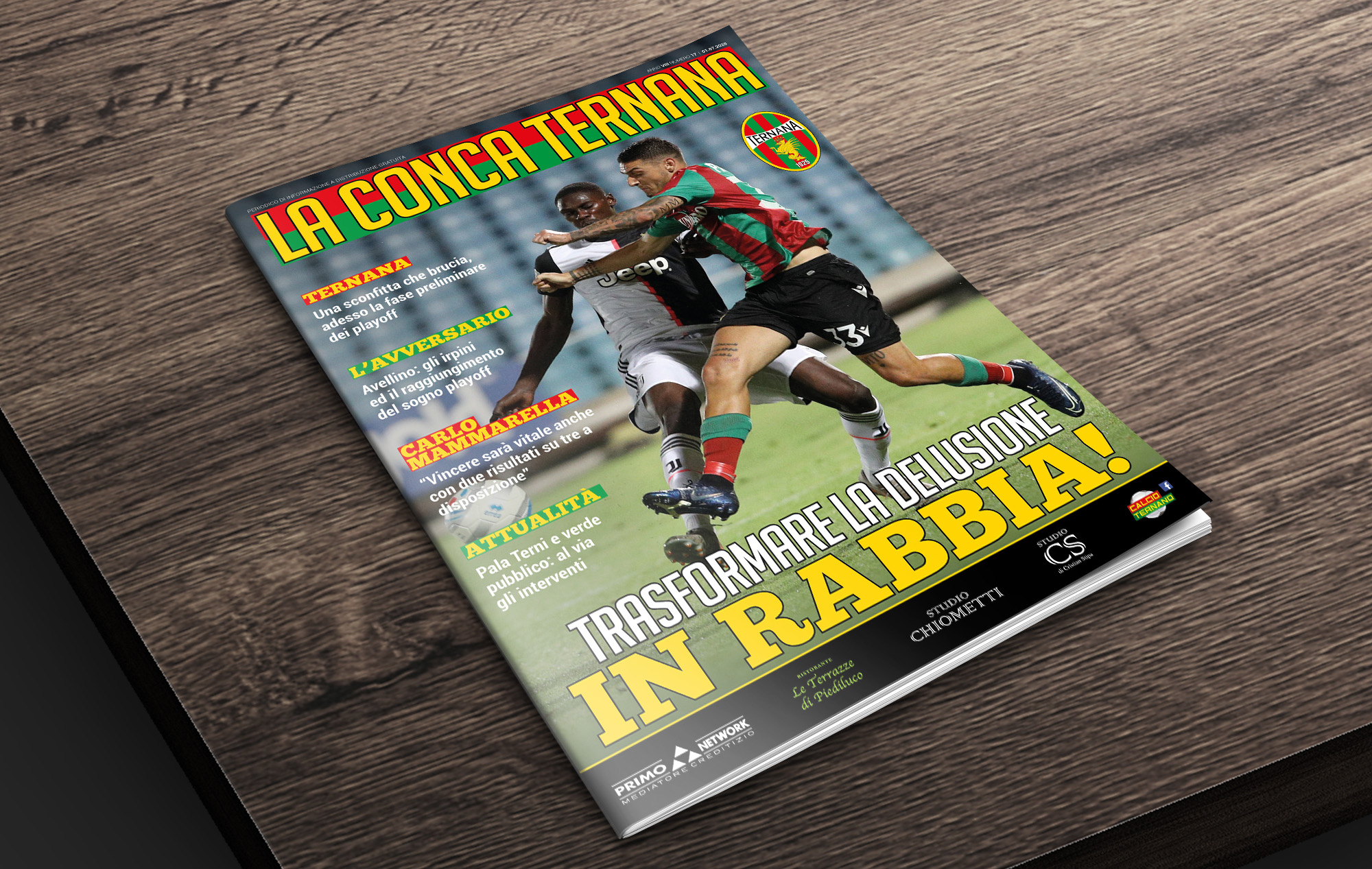 La Conca Ternana n-17 stagione 2019-20